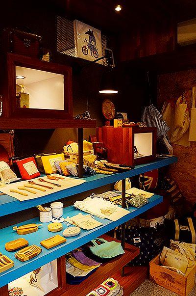 陶器、木器、肥皂架、束口袋